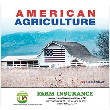 2019 American Agriculture Wall Calendar - Stapled