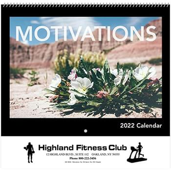 Motivations Wall Calendar - Spiral 2020