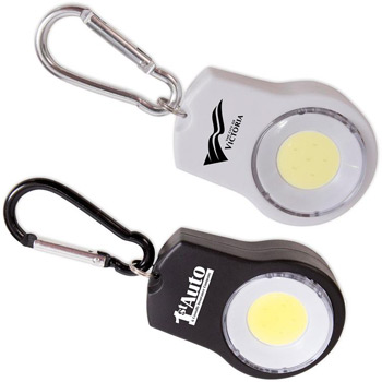COB Flip Light with Carabiner