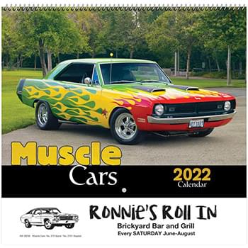 Muscle Cars Wall Calendar - Spiral 2020