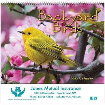 Backyard Birds Wall Calendar - Spiral 2020