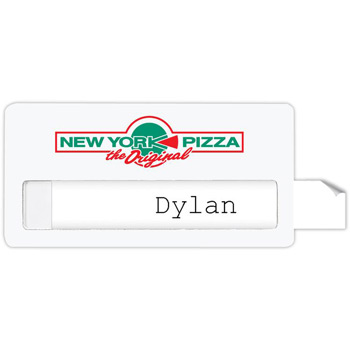 "Atlanta Economy Name Badge (Standard Size 3"" x 1-1/2"")"