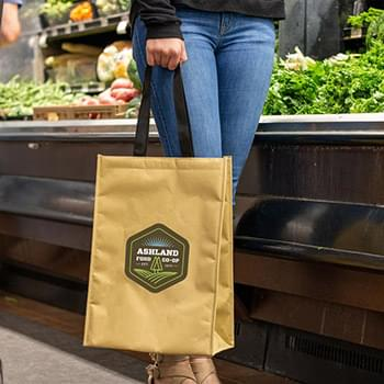 HOT DEAL - Kraft Insulated Hook & Loop Grocery Tote