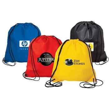 Jumbo Non-Woven Drawstring Backpack
