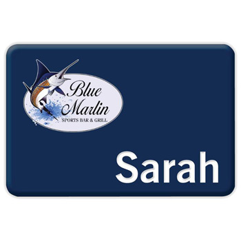 "Chicago Standard Name Badge (Standard Size 2"" x 3"")"