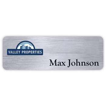 "Hollywood Express Name Badge (Standard size 1"" x 3"")"