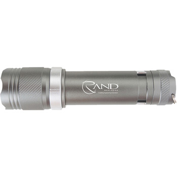 3 AAA Aluminum Matrix Flashlight with Cree® LEDs in a Zippered Case