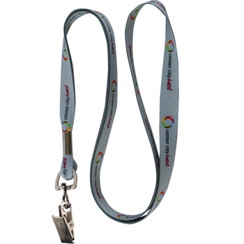 "1/2"" Smooth Polyester Lanyard"