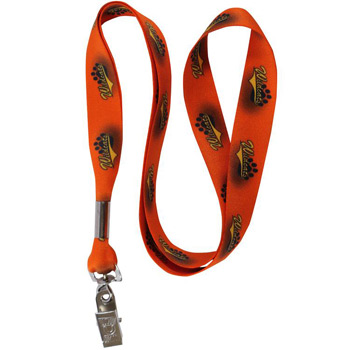 "3/4"" Smooth Polyester Lanyard"