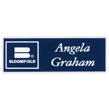 "Los Angeles Standard Plastic Name Badge (Standard Size 1"" x 3"")"