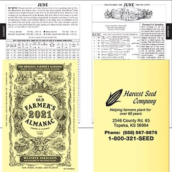 2019 The Old Farmer's Almanac Booklet