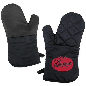 Oven Mitt w/ Silicone Back