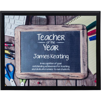 "Sublimated Plaques 10"" x 8"", Horizontal"