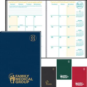 2019 Academic Desk Monthly Planner w/ Morocco Cover