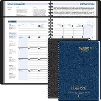 2019 Investor's Planning Manual Monthly Planner