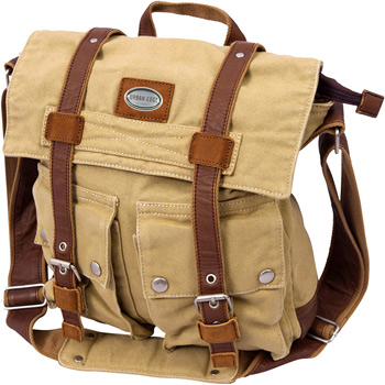 Urban Edge by Canyon Grady Large Canvas Messenger Bag