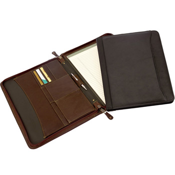 Canyon Outback Oregon Canyon Zip-Around Meeting Folder w/ Pen