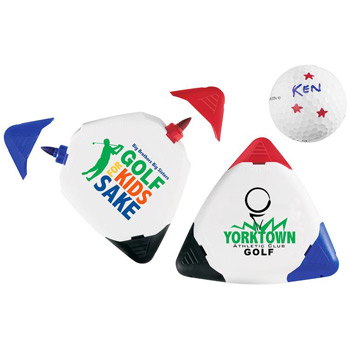Triple Golf Ball Marker